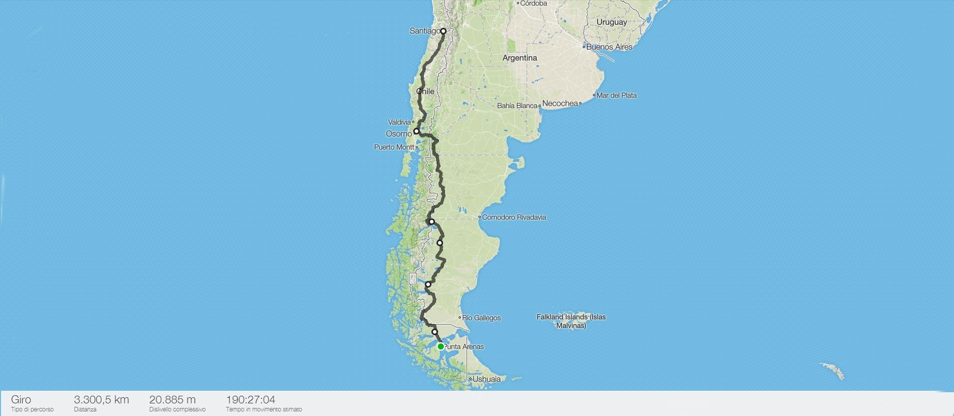 cartina-arenas-santiago